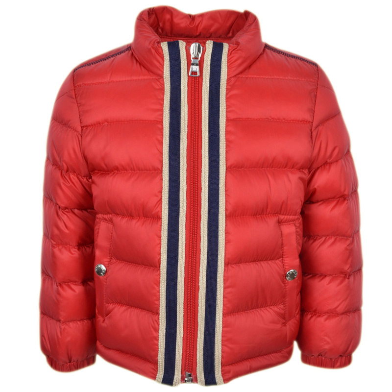 3addad89bf32 Moncler Baby Red TEOPHILE Jacket