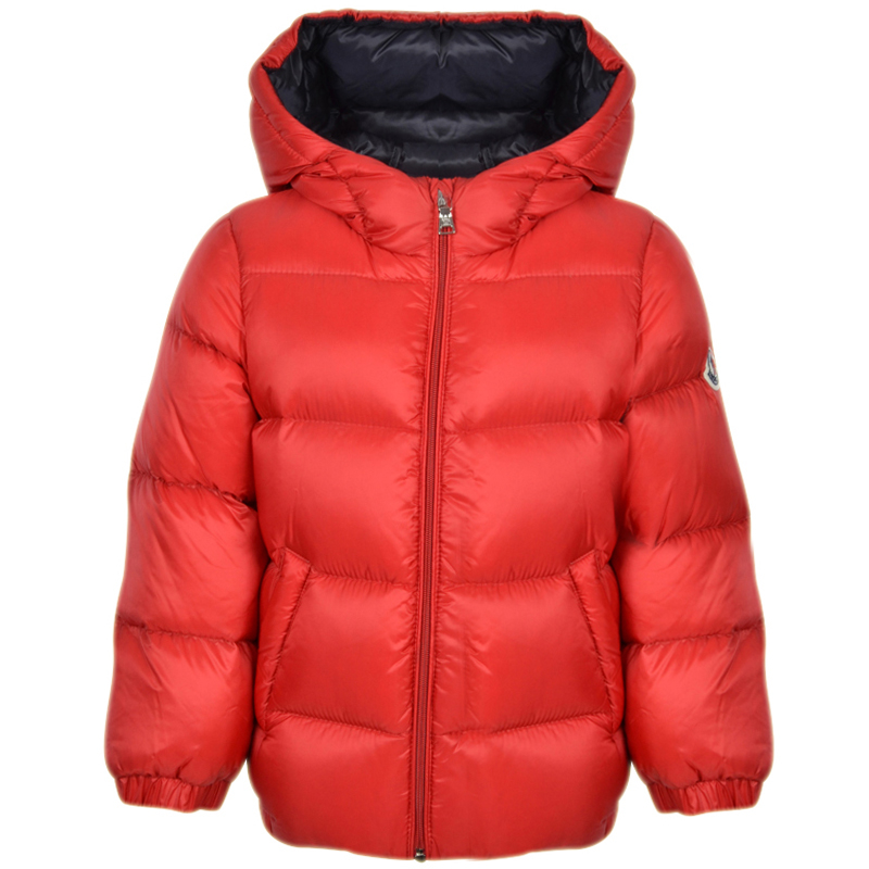 2fed1ab4002c Moncler Baby Red  NEW MACAIRE  Coat