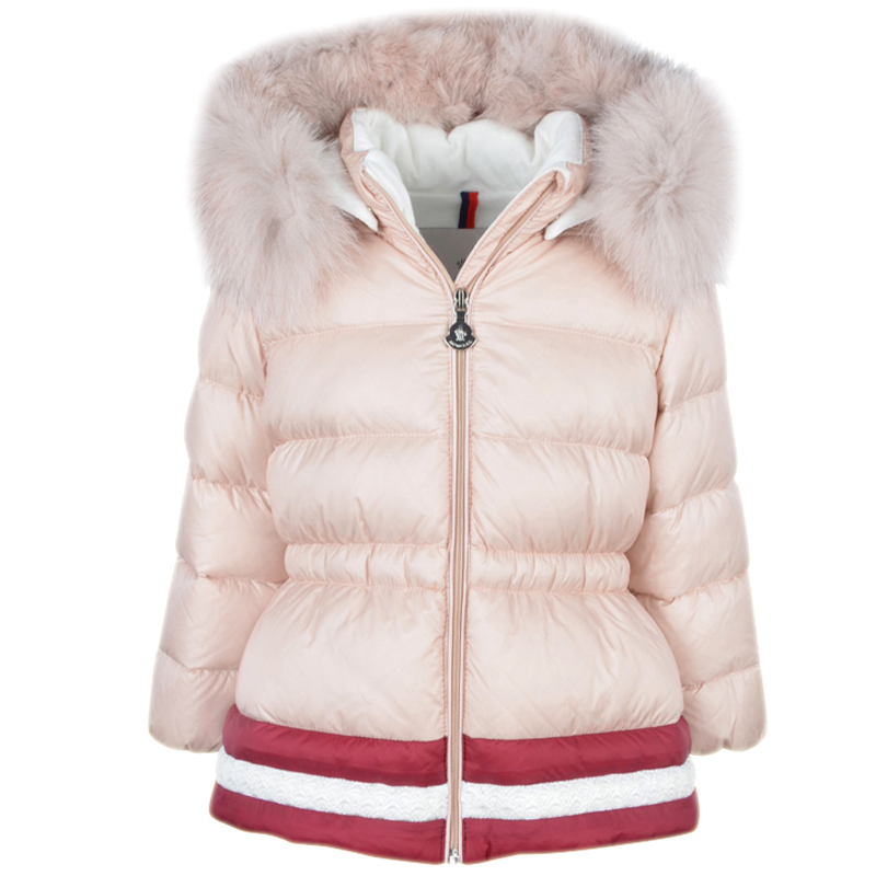 ff3002a08 Moncler Baby Pink  CLOTILDE  Coat